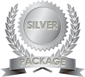 Silver content writing packages medal